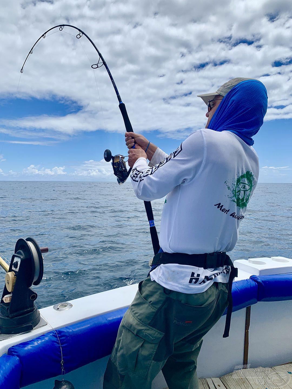 A látott halat becserkészni, megakasztani, majd kifárasztani a tengeri horgászat csúcsa!