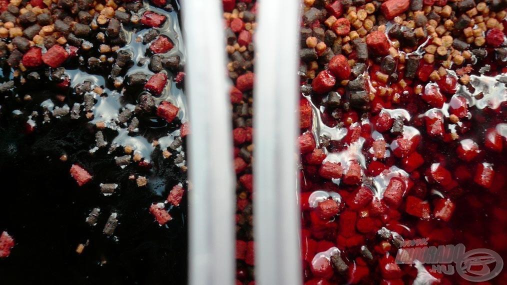 A pellettel történő aromabevitel az egyik módja annak, hogy egyenletesen el tudjuk oszlatni a sűrű juice-t!