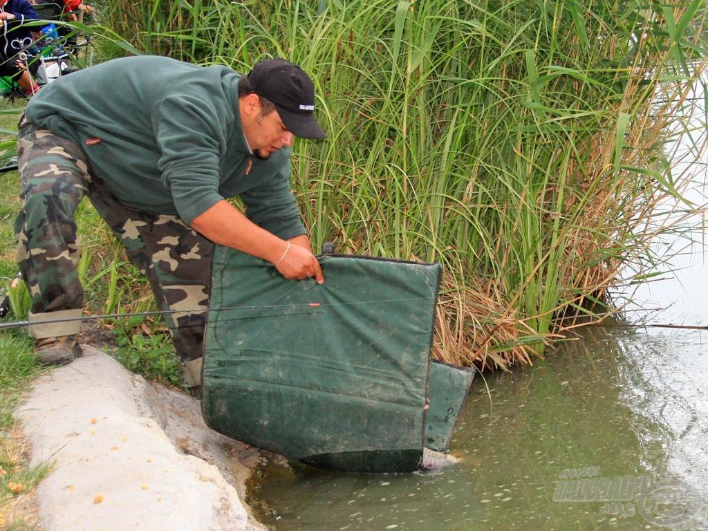 A halakkal való kíméletes bánásmód különös figyelmet kapott!