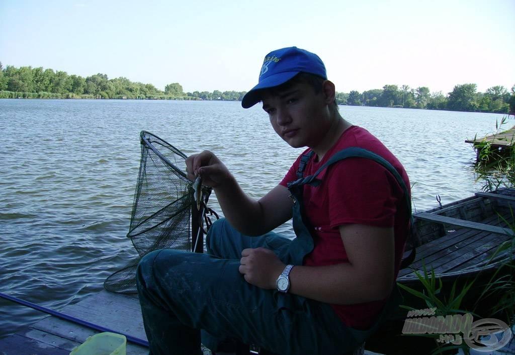 A horgász legjobb barátja a géb - mindig megtalált
