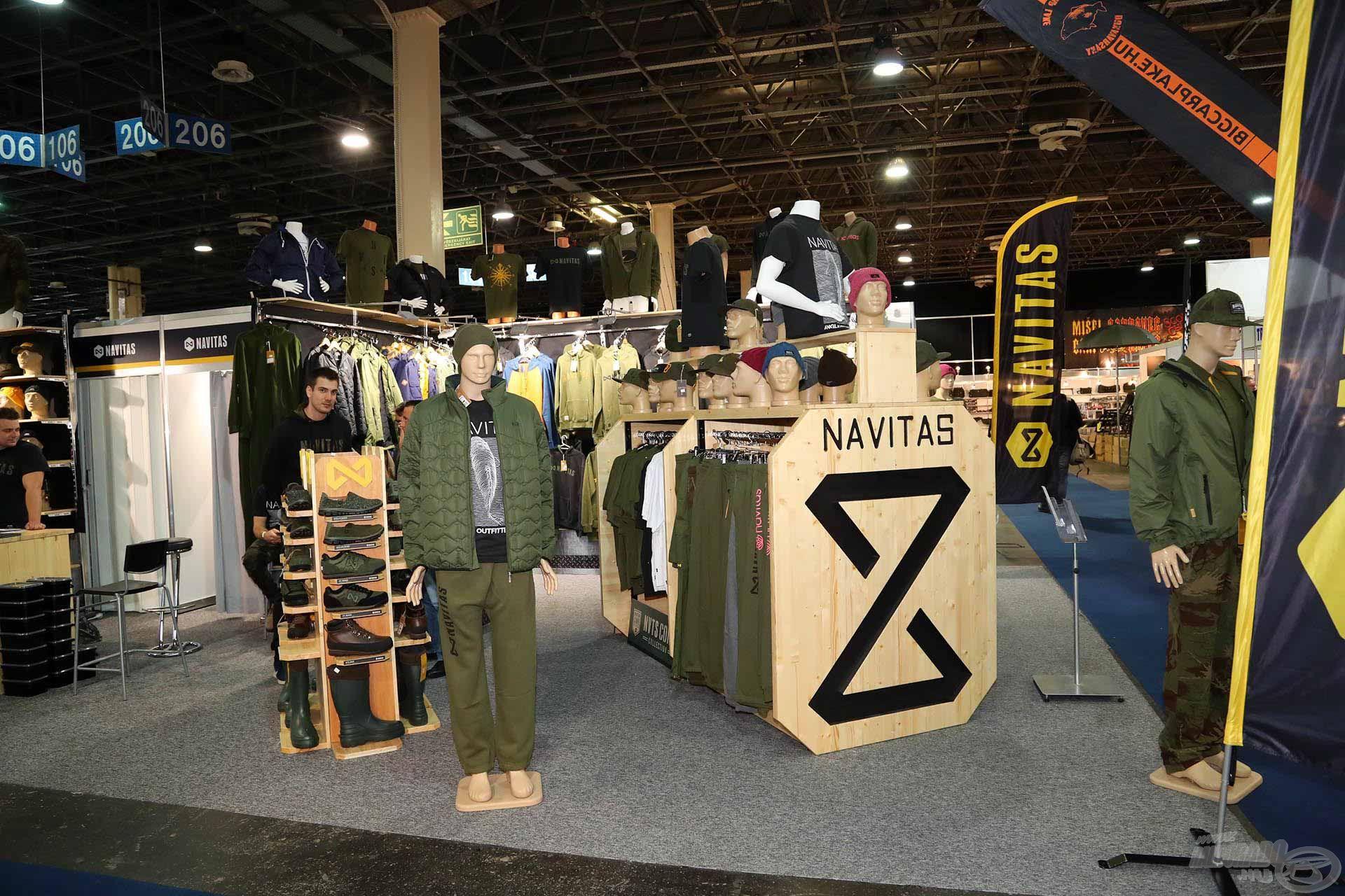 A Navitas teljes ruhakollekcióval érkezik