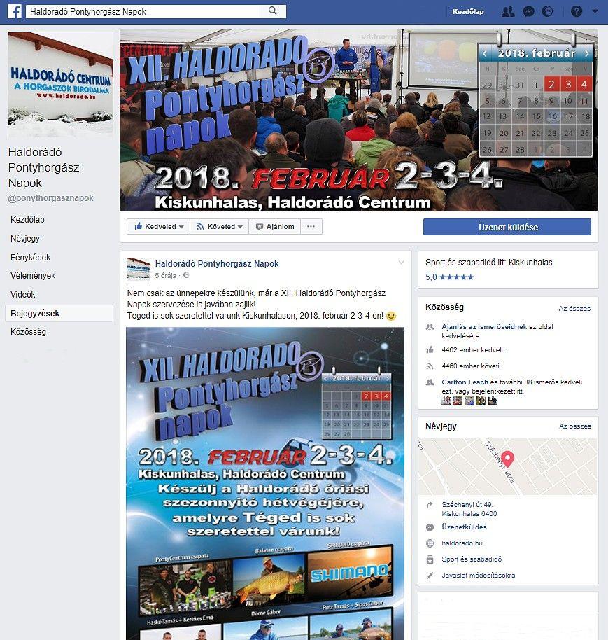 Érdemes figyelemmel kísérni az esemény Facebook-oldalát is, mert itt minden nap találkozhattok hasznos, új információkkal!