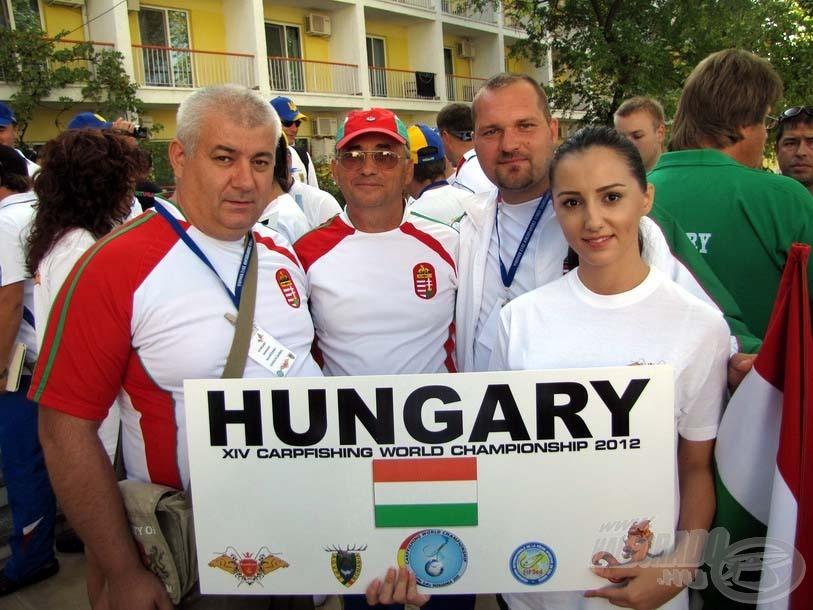 XIV. CARPFISHING WORLD CHAMPIONSHIP 2012.ROMÁNIA, LAC CORBU