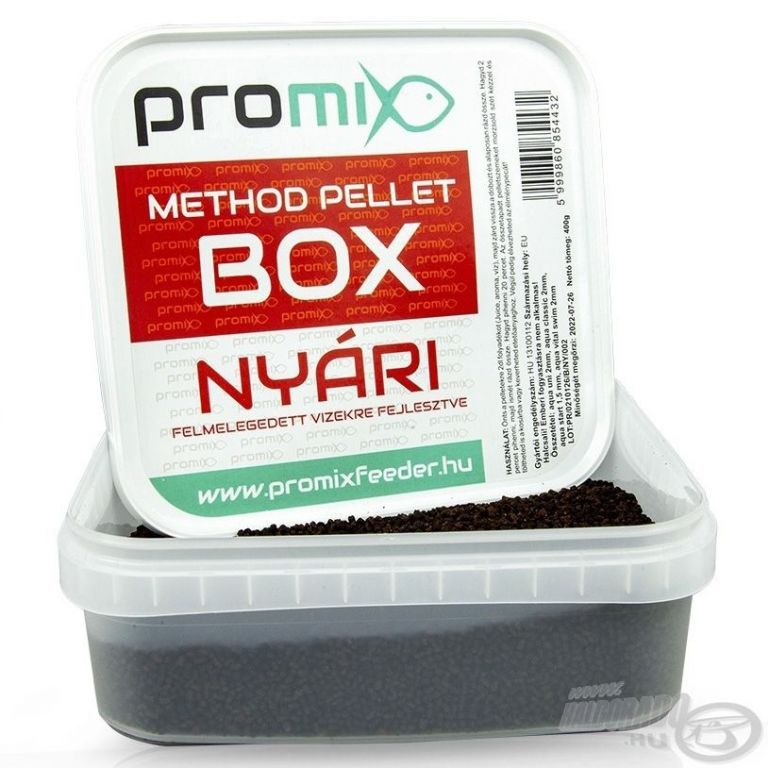 Aqua Garant Method Pellet Box - nyári 400 g