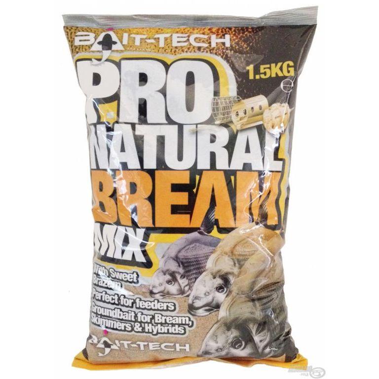 Bait-Tech Pro Natural Bream Groundbait 1,5 kg