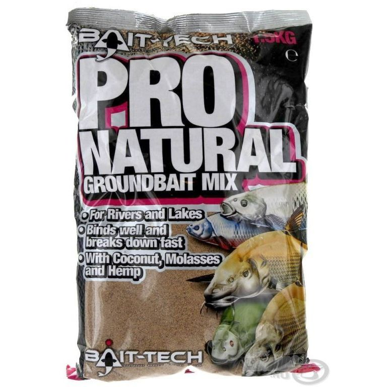 Bait-Tech Pro Natural Dark Groundbait 1,5 kg