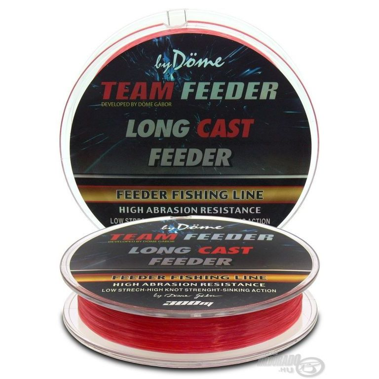 By Döme TEAM FEEDER Long Cast Line 0,20 mm