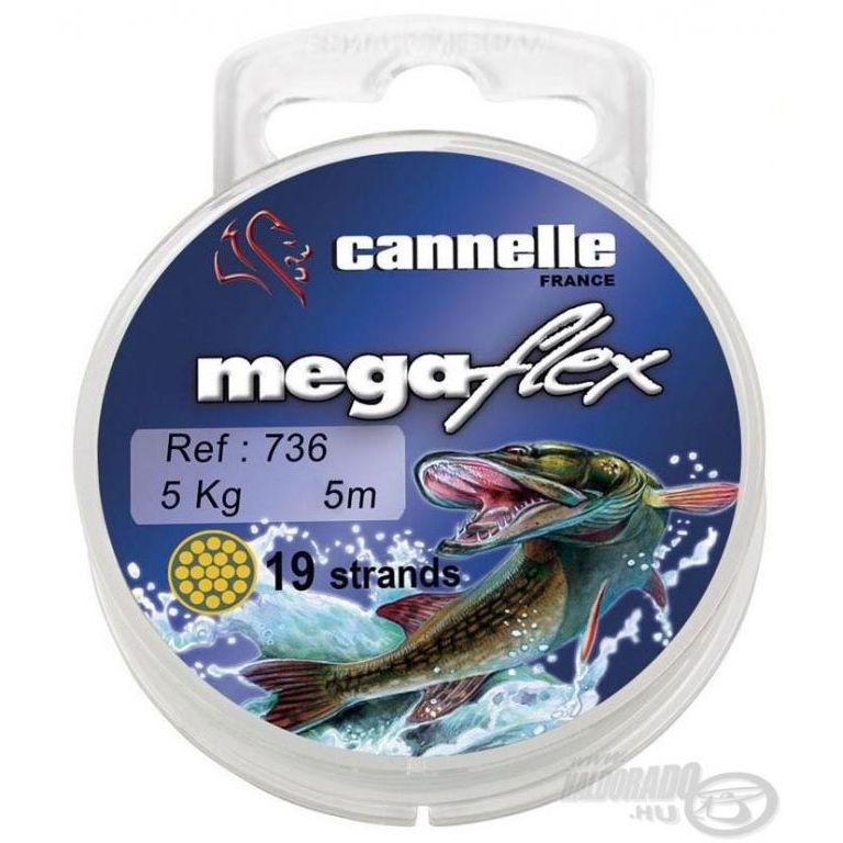 CANNELLE Megaflex 736 19 szálas köthető előke 5 m 11 kg