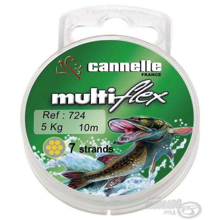 CANNELLE Multiflex 724 7 szálas köthető előke 10 m 5 kg