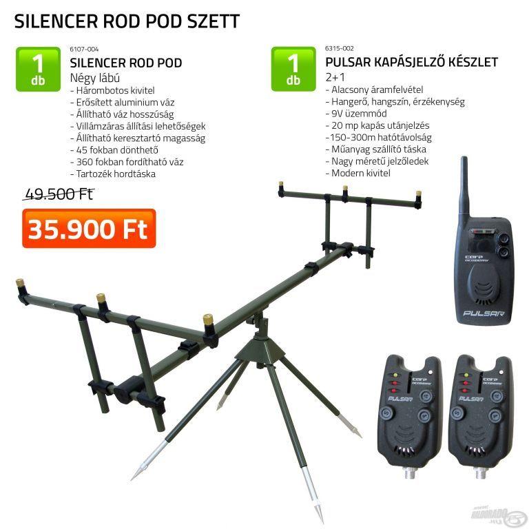 CARP ACADEMY Silencer Rod Pod szett (KB-479)