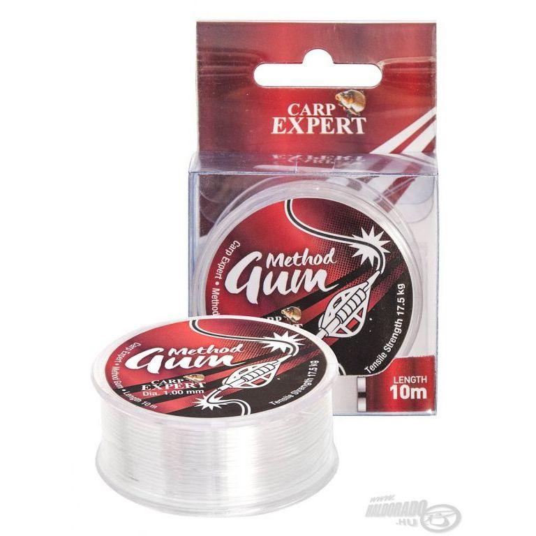 Carp Expert Method Gum áttetsző 0,65 mm