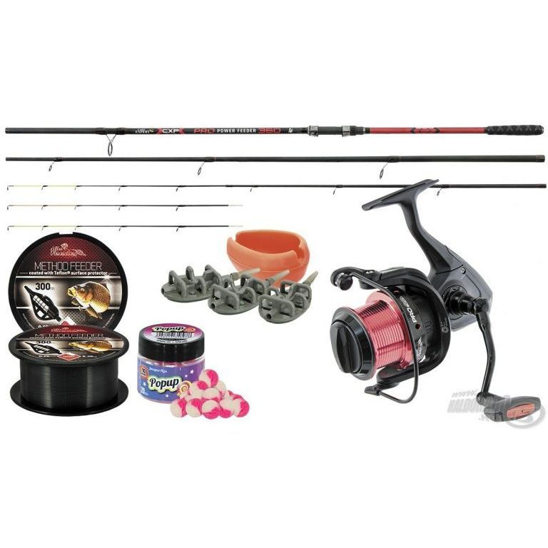 Carp Expert Pro Power Feeder szett 3,6 m