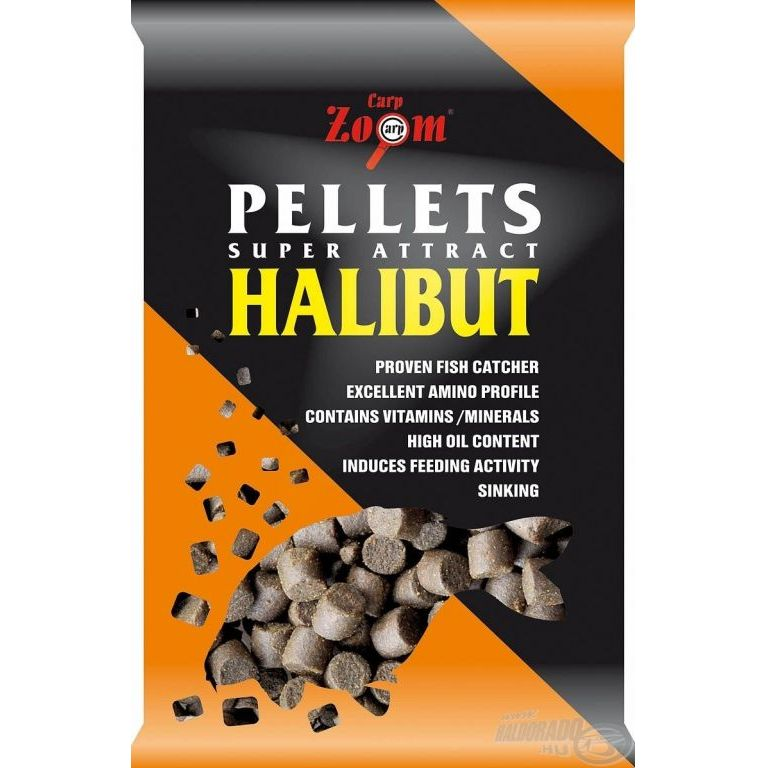 CARP ZOOM Halibut pellet 15 mm - 800 g