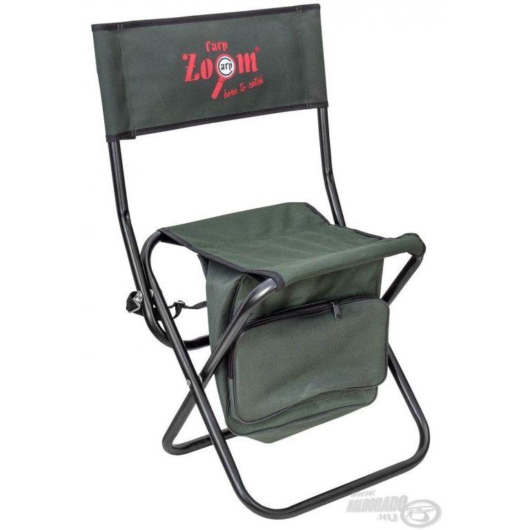 CARP ZOOM Shoulder szék táskával