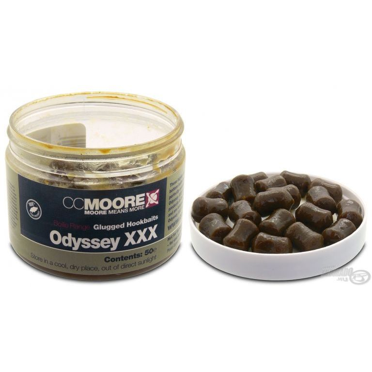 CCMoore Odyssey XXX Glugged Hookbaits 14x10 mm