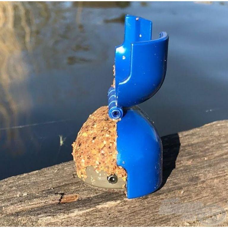 CRALUSSO Shell Method kosár töltő szerszám Blue