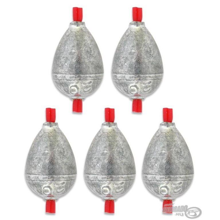 DEÁKY betétes cseppólom - 4 g - 5 db