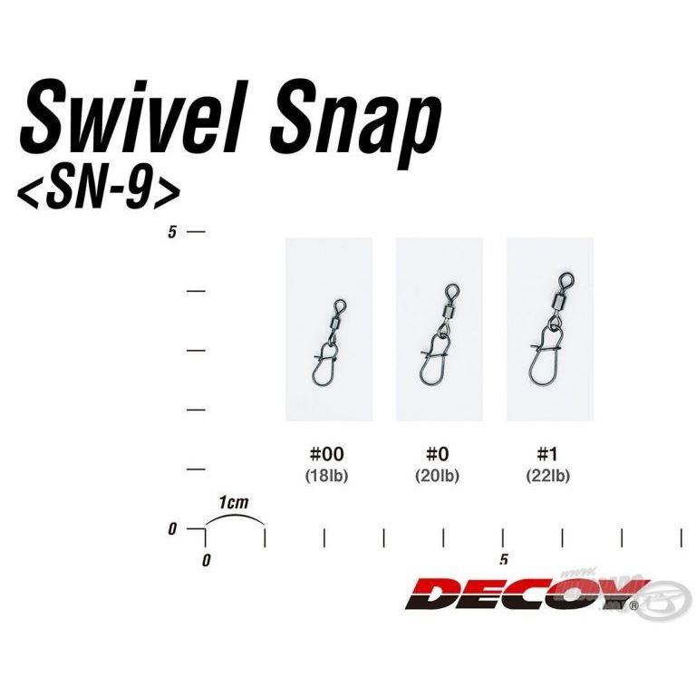 DECOY SN-9 Swivel Snap 00