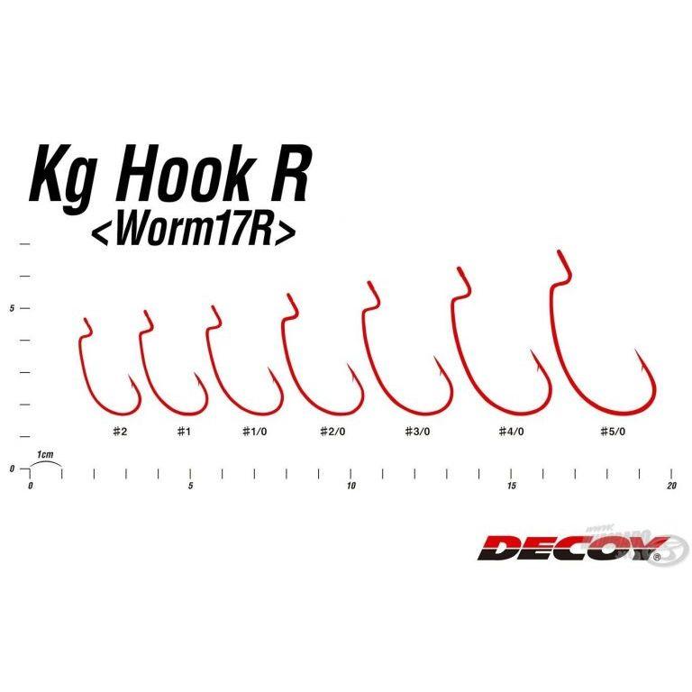 DECOY Worm 17R Kg - 2/0