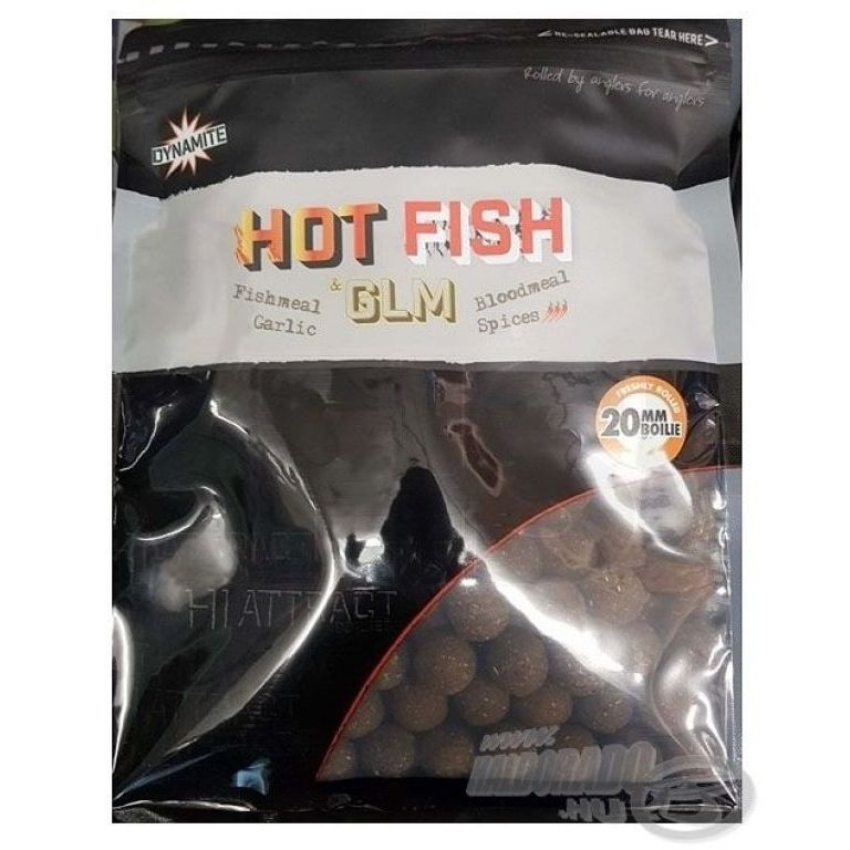 Dynamite Baits Hot Fish & GLM bojli 20 mm