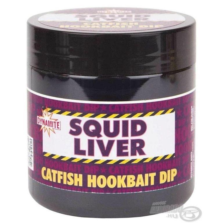 Dynamite Baits Squid Liver Catfish Dip 270 ml