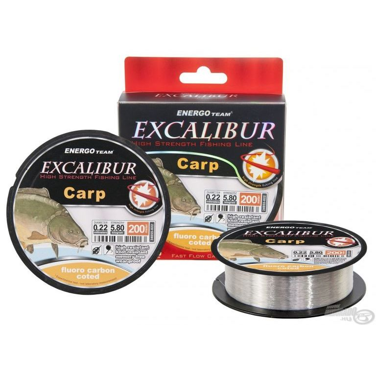 ENERGOTEAM Excalibur Carp Fluoro Carbon Coated 0,18 mm