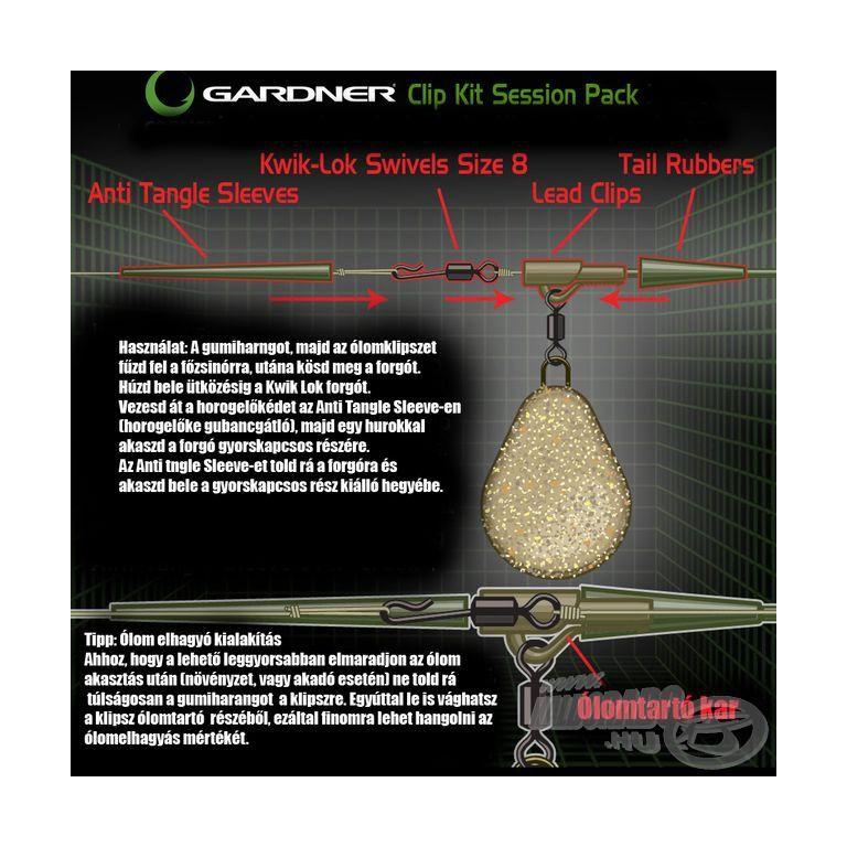 GARDNER Covert Clip Kit Session Pack Green