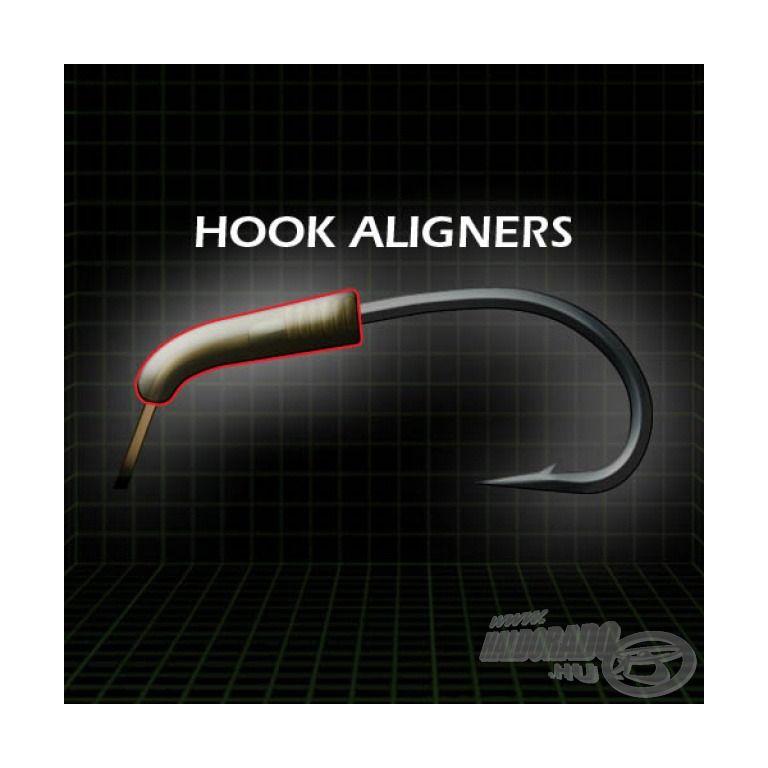GARDNER Covert Hook Aligner Large Brown