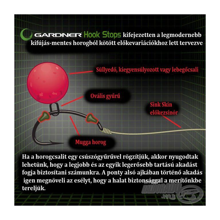 GARDNER Covert Hook Stops Green