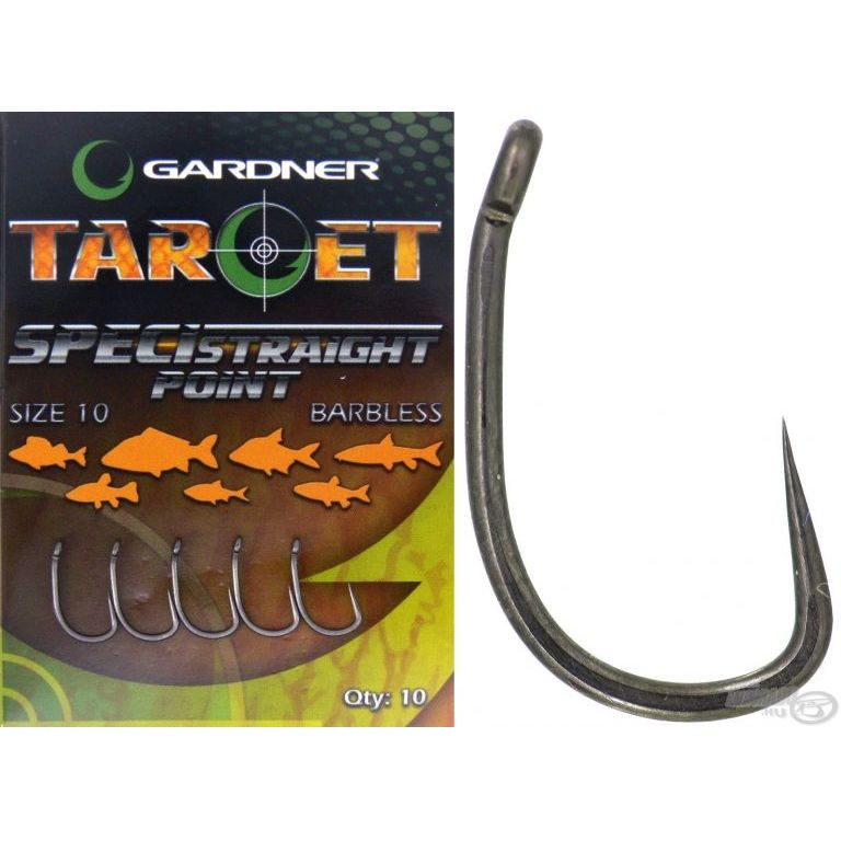 GARDNER Target Speci-Straight Barbless - 12