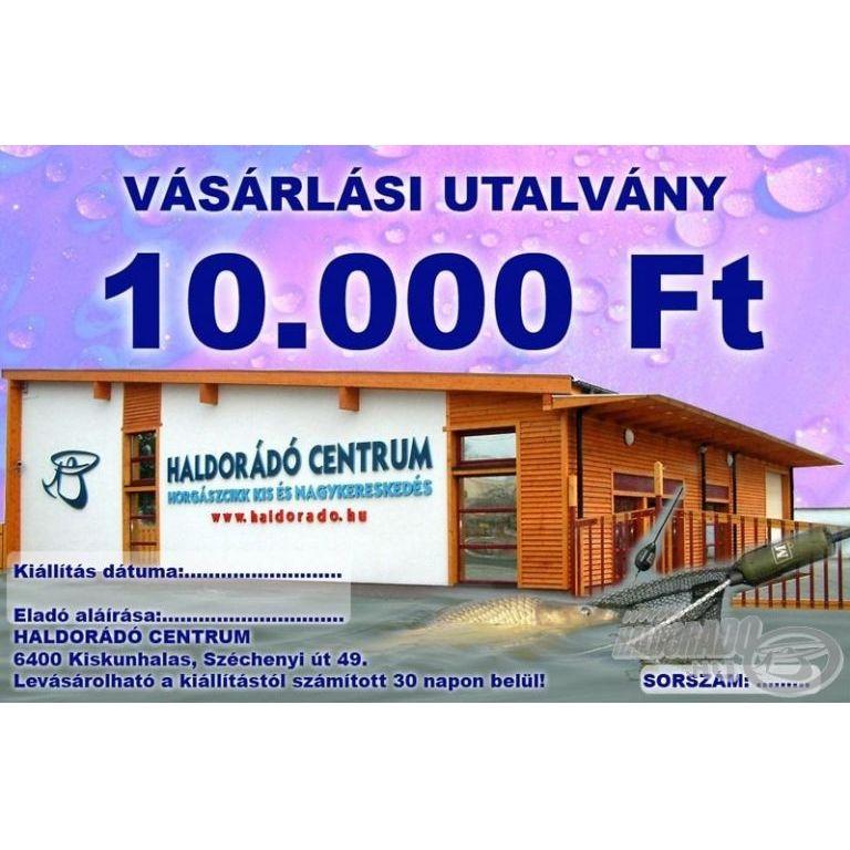 HALDORÁDÓ Ajándékutalvány 10000 Ft