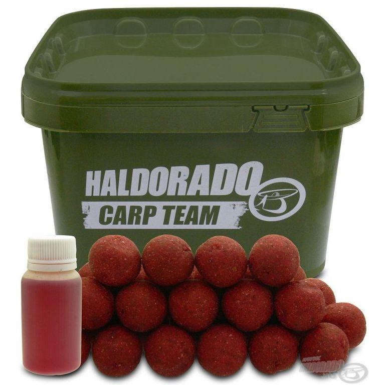 HALDORÁDÓ Big Feed - C21 Boilie - Fűszeres Kolbász vödrös