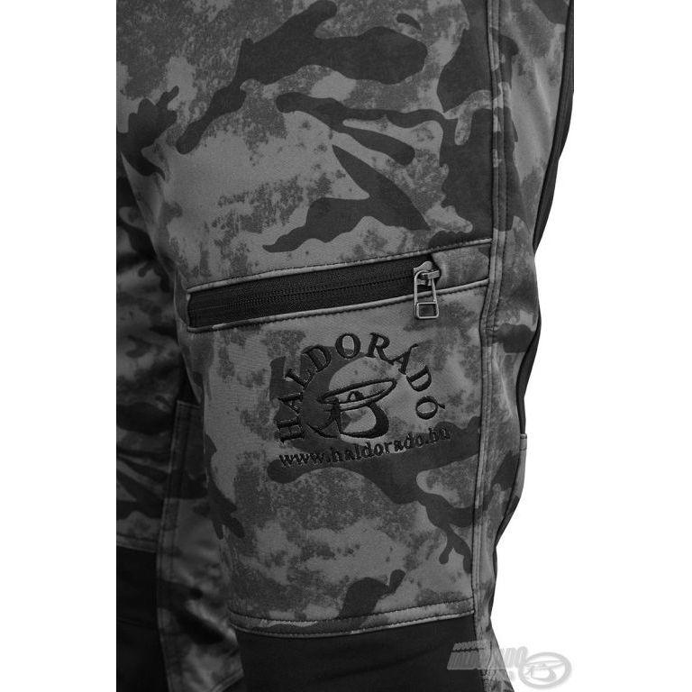 HALDORÁDÓ Carp Team Camouflage Horgásznadrág 48
