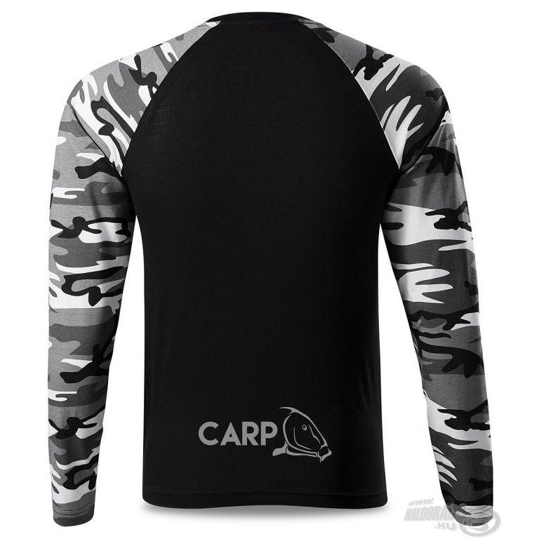 HALDORÁDÓ Carp Team Camouflage hosszú ujjú póló M