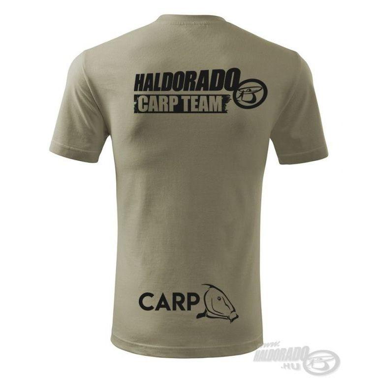 HALDORÁDÓ Carp Team Classic környakas póló M
