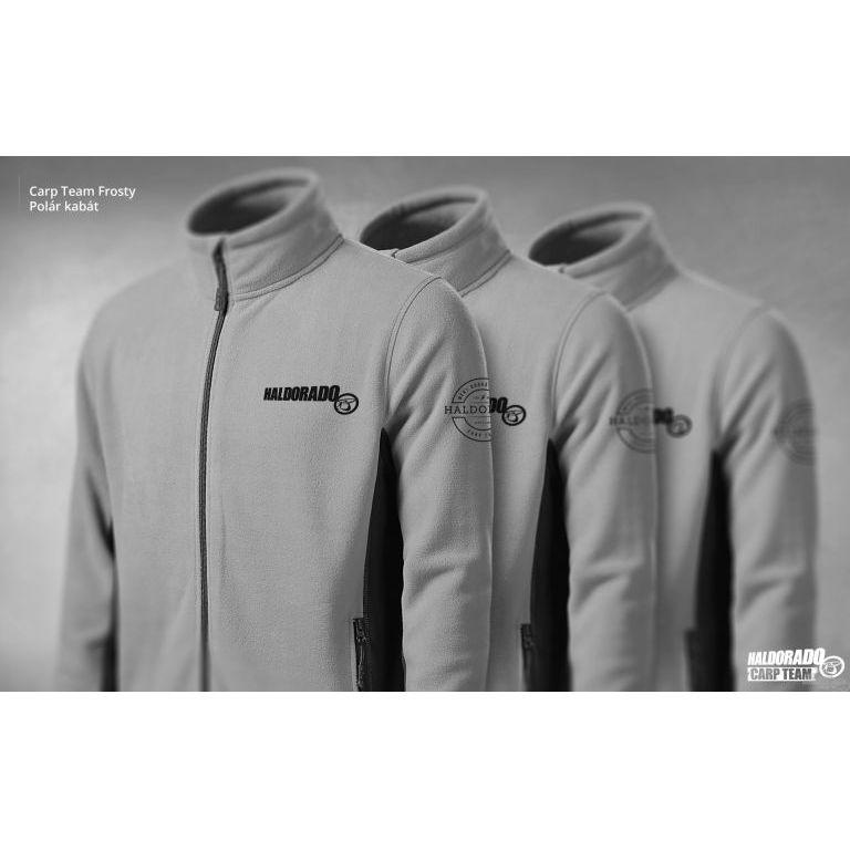 HALDORÁDÓ Carp Team Frosty Polár kabát XXL