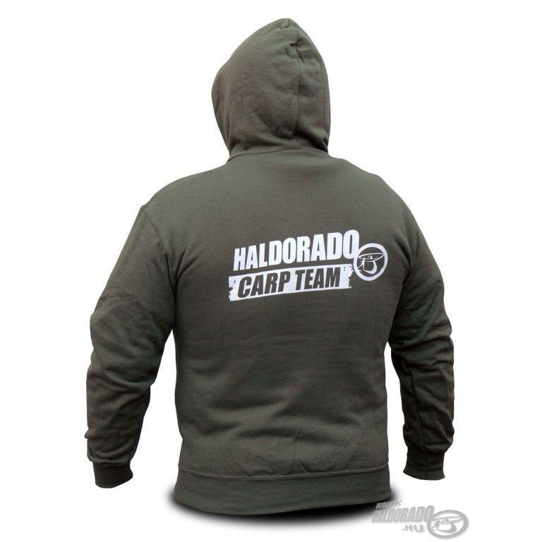 HALDORÁDÓ Carp Team kapucnis pulcsi XL