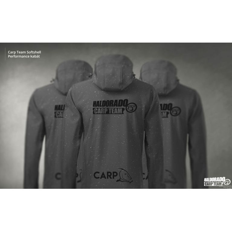 HALDORÁDÓ Carp Team Softshell Performance kabát XL