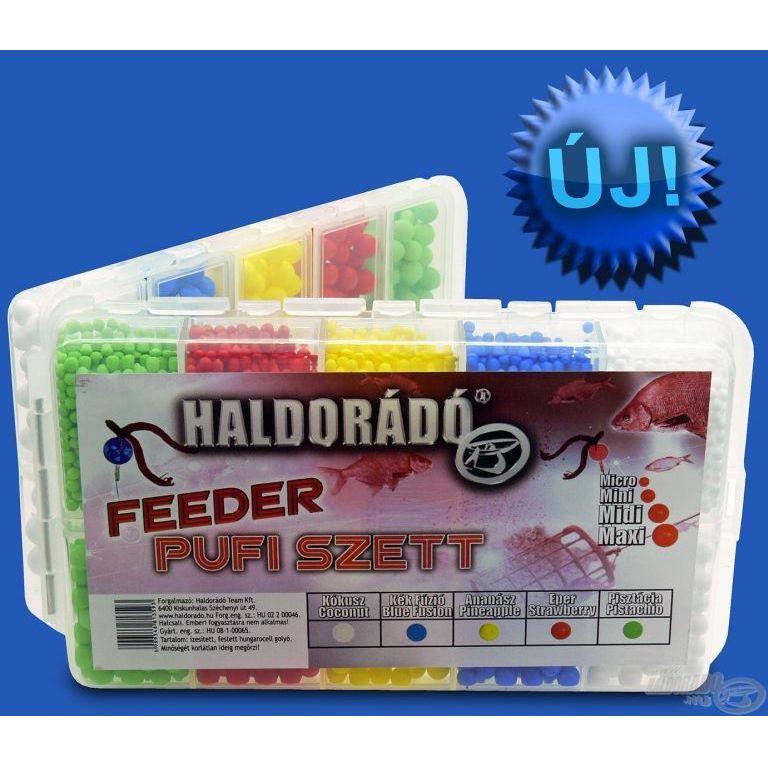 HALDORÁDÓ Feeder Pufi szett - Haldorádó horgász áruház 874bf9e1a9