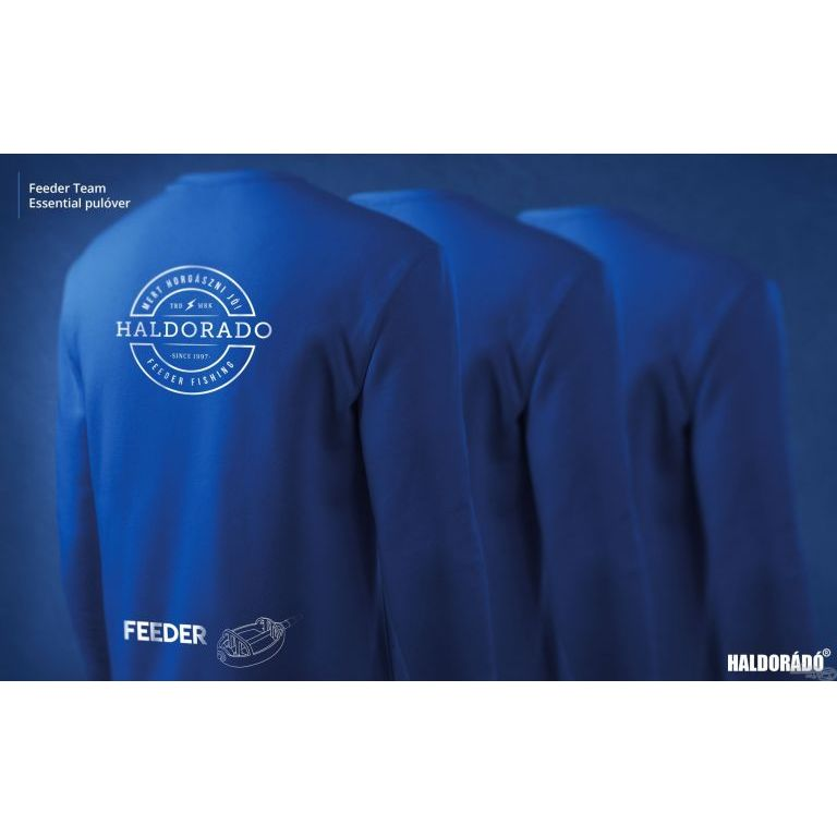 HALDORÁDÓ Feeder Team Essential pulóver L
