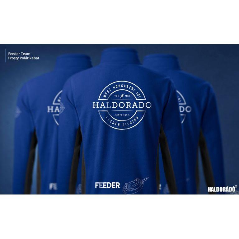 HALDORÁDÓ Feeder Team Frosty Polár kabát XL