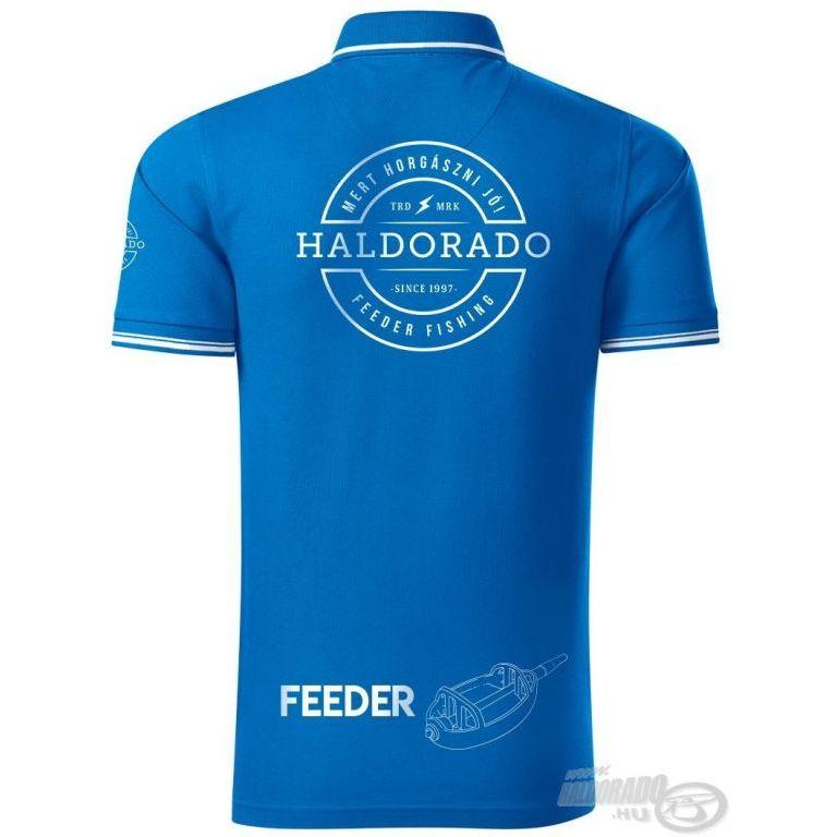HALDORÁDÓ Feeder Team Perfection galléros póló XL