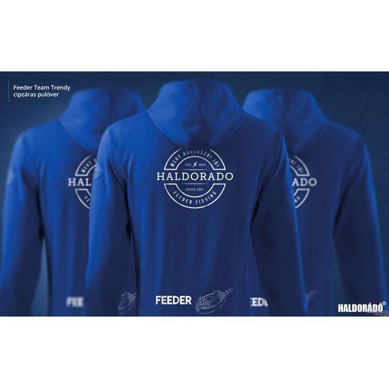 HALDORÁDÓ Feeder Team Trendy cipzáras pulóver XXXL
