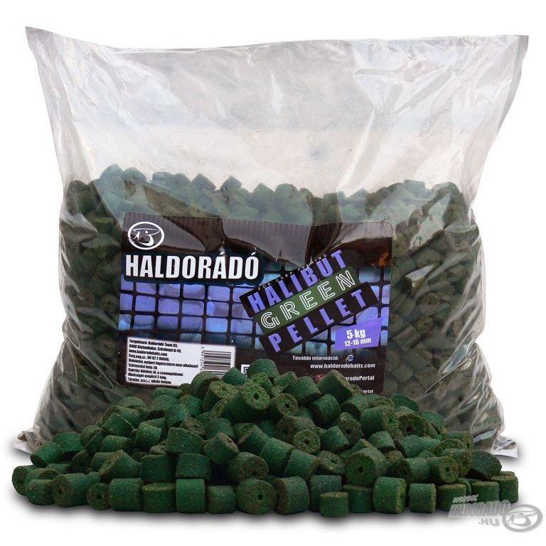 HALDORÁDÓ Green Halibut Pellet 5 kg / 12-16 mm
