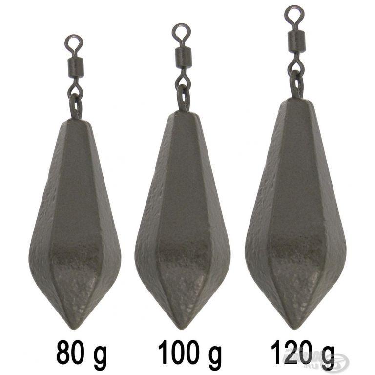 HALDORÁDÓ Hexagonal Lead Swivel 120 g