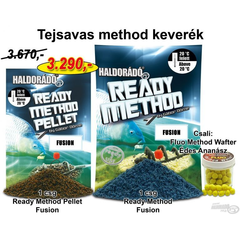 HALDORÁDÓ Nyári recept 2 - Tejsavas method keverék