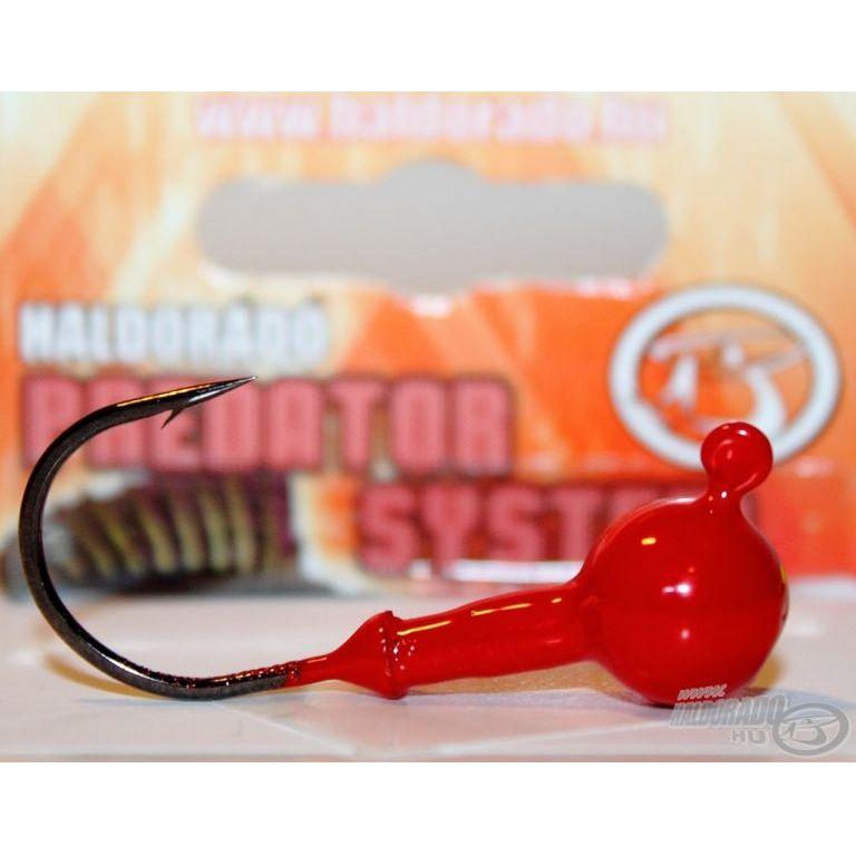 HALDORÁDÓ Predator Twister Head 4/0 - 7 g