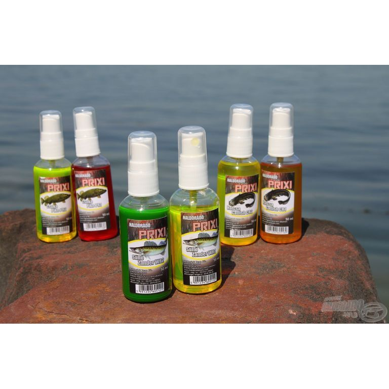HALDORÁDÓ PRIXI ragadozó aroma spray - MIX-6 / 6 íz egy dobozban