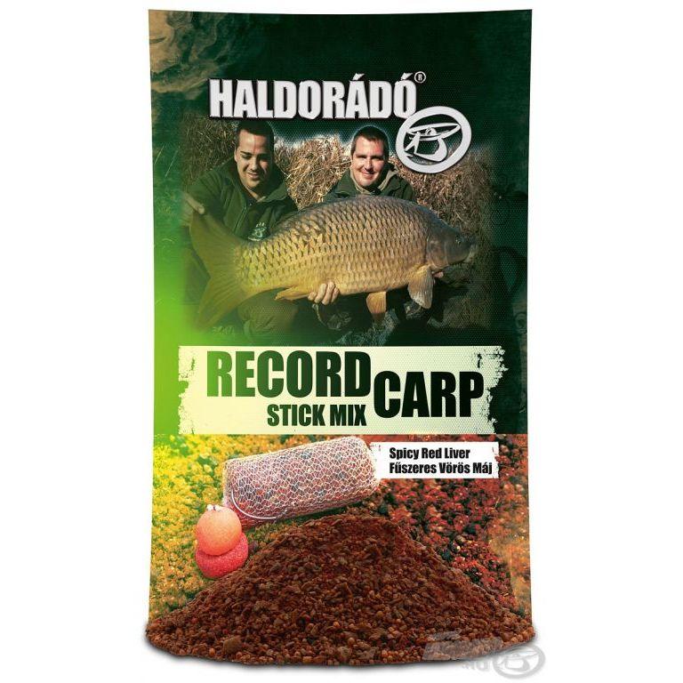 HALDORÁDÓ Record Carp Stick Mix - Fűszeres Vörös Máj