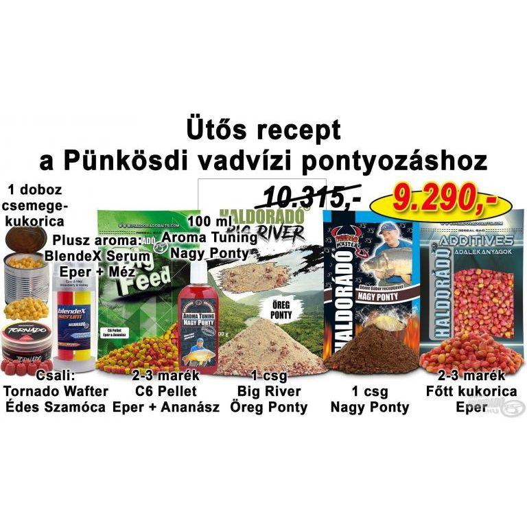 HALDORÁDÓ Tavaszi recept 13 - Ütős recept a Pünkösdi vadvízi pontyozáshoz